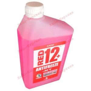Красный антифриз G12+ Хадо