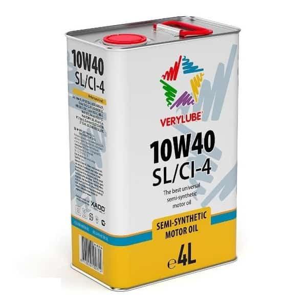 Полусинтетическое масло Verylube 10W 40 SL CI 4