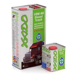 Дизельное грузовое масло 10W 40 Diesel Truck Xado