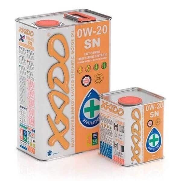 Синтетическое моторное масло Xado 0W20 SN