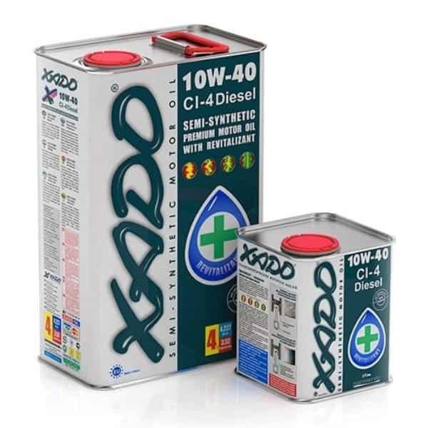 Дизельное моторное масло 10W 40 CI 4 Diesel Xado