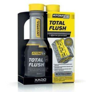 Мягкий очиститель двигателя Xado Atomex TotalFlush