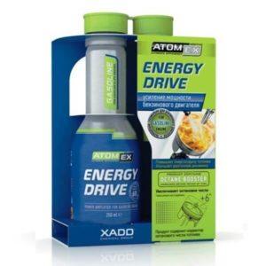 Октаноповышающая присадка AtomEx Energy Drive - усилитель мощности бензинового двигателя