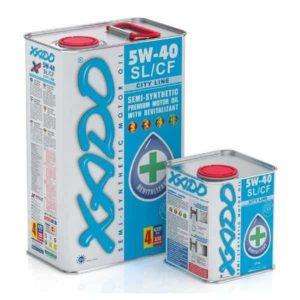 Полусинтетическое моторное масло 5W40 Xado City Line