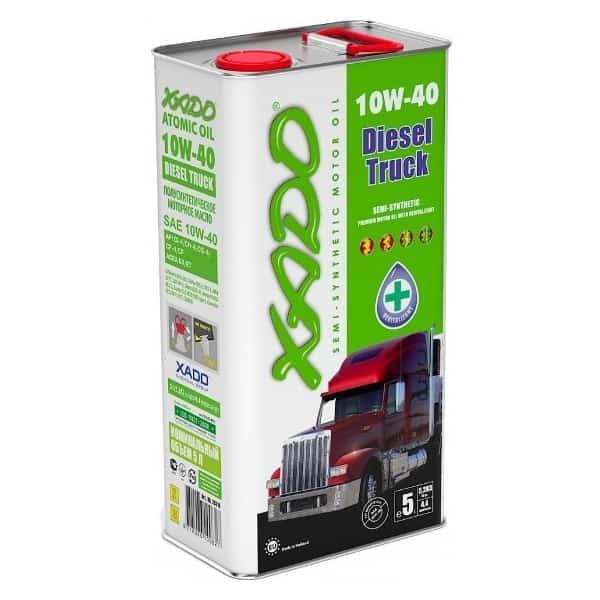 Масло для грузовых автомобилей 10W 40 Xado Diesel Truck