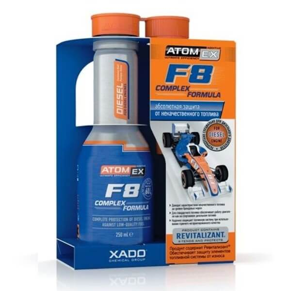 Комплексная присадка в дизельное топливо AtomEx F8 Complex Formula