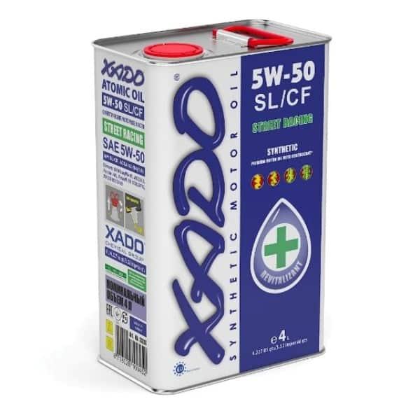 Моторное масло 5W50 Хадо