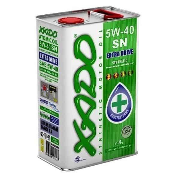 XADO масло 5W40 SN
