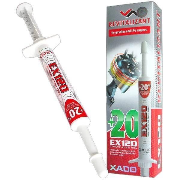 EX120 ревитализант для двигателя (бензин)