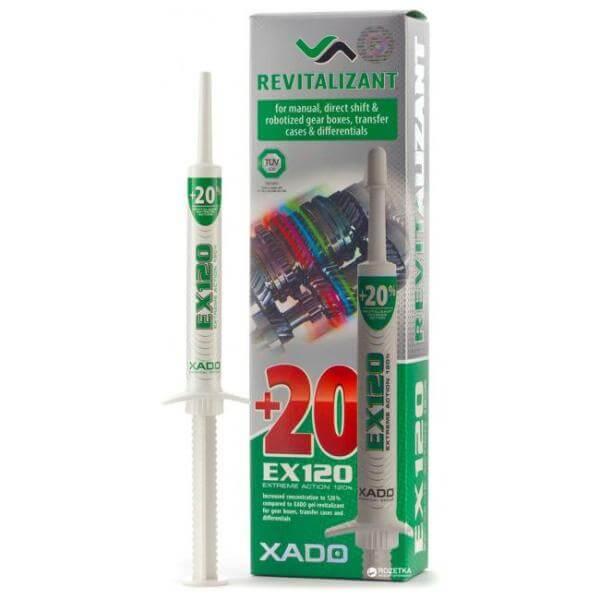 Присадка в механическую коробку Хадо EX120