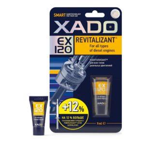 Присадка в масло для дизельного двигателя гель Xado revitalizant ex120 туба 9 мл