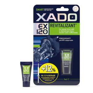 Присадка в КПП, дифференциал, мосты и редуктор от шума Xado revitalizant EX120 туба 9 мл