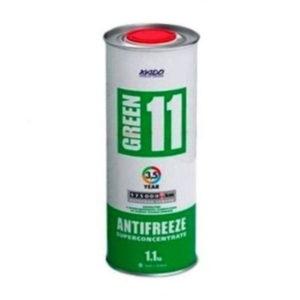 Зеленый антифриз G11 Хадо
